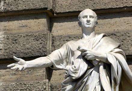 Statua di Cicerone (InfoPhoto)