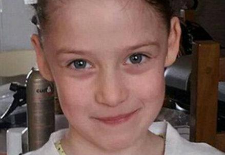 La bambina uccisa, foto da Internet