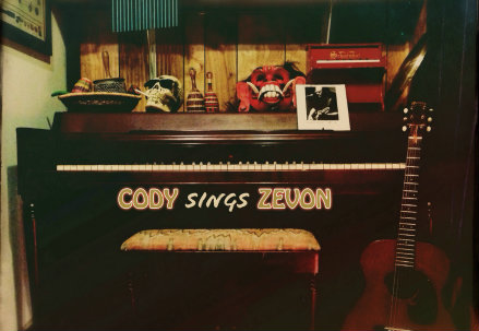 Cody Sings Zevon, la copertina