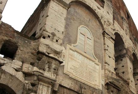 Particolare del Colosseo (Infophoto)