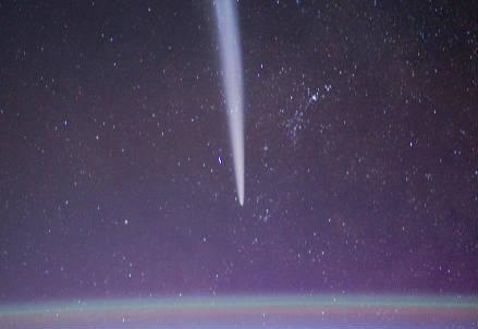 Il passaggio di una cometa
