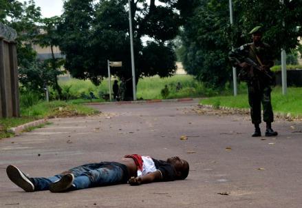 Un ribelle ucciso in Congo