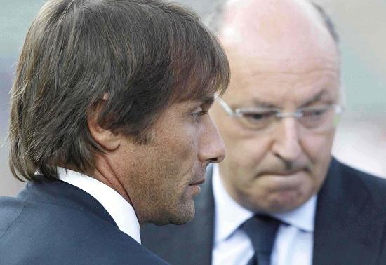 Conte e Marotta (Infophoto)