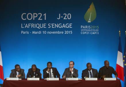 Cop21, Conferenza sul Clima delle Nazioni Unite a Parigi (Infophoto)