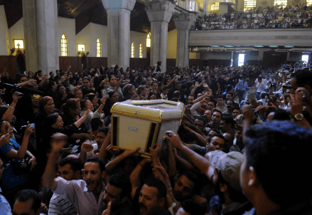 Copts in Egypt   (Infophoto)