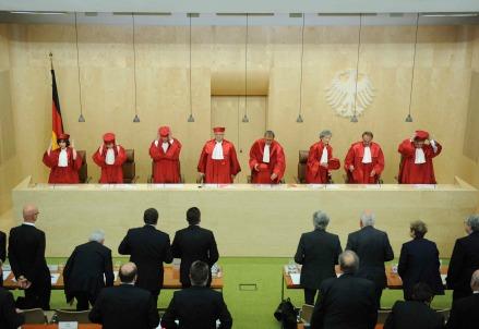 La Corte costituzionale tedesca