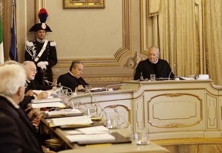Corte costituzionale (Infophoto)