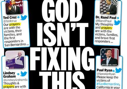 La cover del NY Daily News
