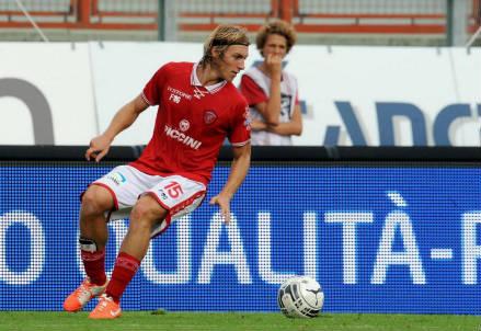 Alessandro Crescenzi, 23 anni, terzino del Perugia (dall'account Twitter ufficiale @ACPerugiaCalcio)