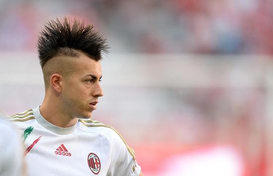 El Shaarawy, attaccante del Milan (Infophoto)