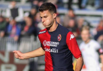 Lorenzo Crisetig, 22 anni, centrocampista del Cagliari (INFOPHOTO)