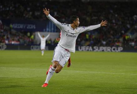 Cristiano Ronaldo, 29 anni, portoghese (dall'account Twitter ufficiale @realmadrid)