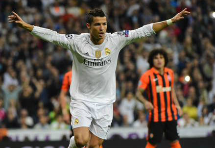 Cristiano Ronaldo, 30 anni (dall'account Twitter ufficiale @ChampionsLeague)