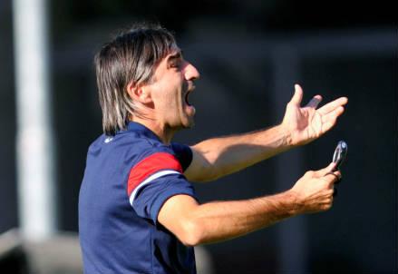 Il croato Ivan Juric, 40 anni, allenatore del Crotone (INFOPHOTO)