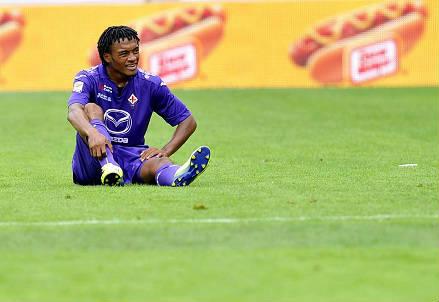 Juan Cuadrado: è in comproprietà tra Fiorentina e Udinese (Infophoto)