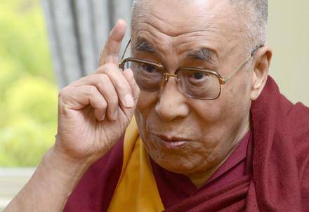 Il Dalai Lama (Infophoto)