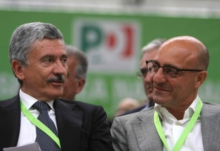 Massimo D'Alema e Nicola Latorre (Infophoto)