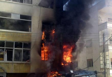 Un attentato in Nigeria (Infophoto)