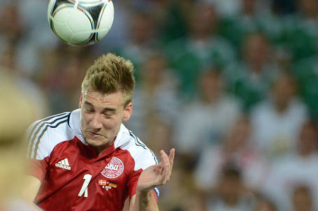 Niklas Bendtner, 27 anni, attaccante danese (INFOPHOTO)