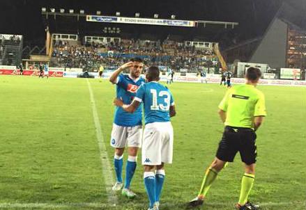 Allan, centrocampista del Napoli (Foto Infophoto)