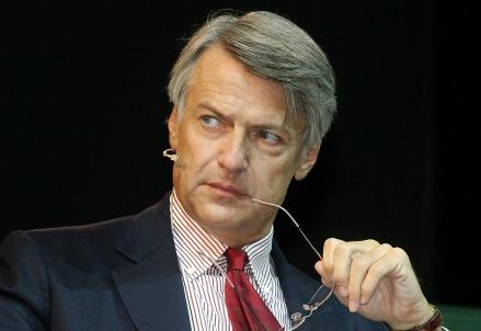 L'ex direttore del Corriere della Sera, Ferruccio De Bortoli (Infophoto)
