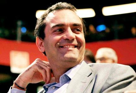 Il sindaco uscente di Napoli Luigi de Magistris (Infophoto)