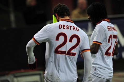Destro e Gervinho, mattatori della gara dello scorso anno (Infophoto)