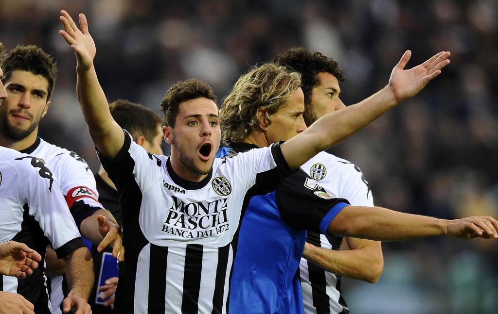 Mattia Destro, è lui il top player di Marotta? (Infophoto)