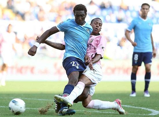 Modibo Diakitè, difensore centrale della Lazio (Foto Infophoto)