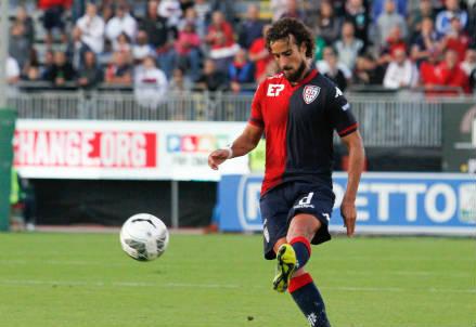 Davide Di Gennaro, 27 anni, centrocampista del Cagliari (INFOPHOTO)