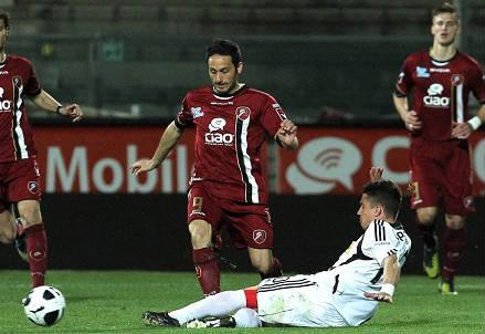David Di Michele, 38 anni, attaccante della Reggina ed ex della Salernitana (INFOPHOTO)