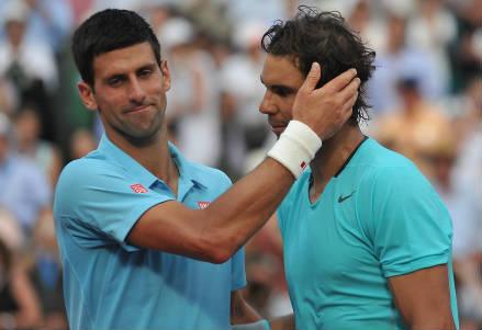 Novak Djokovic e Rafael Nadal (INFOPHOTO)
