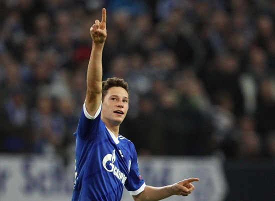 Julian Draxler, trequartista dello Schalke 04 (Infophoto)