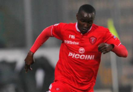 L'ivoriano Jean-Armel Drolé, 18 anni, attaccante del Perugia (INFOPHOTO)