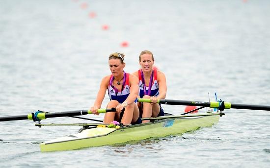 Strano episodio nel canottaggio femminile alle Olimpiadi di Londra (INFOPHOTO)