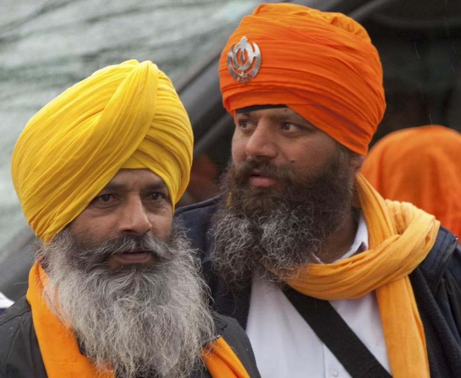 Due membri della comunità Sikh (Foto: Infophoto)