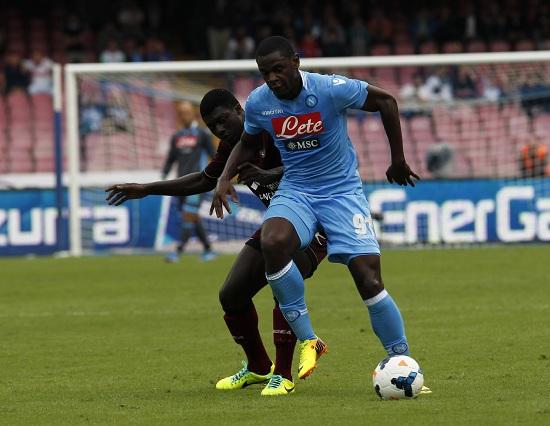 Duvan Zapata, attaccante Napoli (Foto Infophoto)