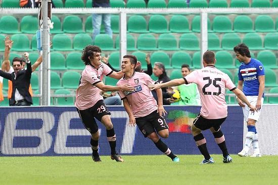 Paulo Dybala, attaccante del Palermo (Foto Infophoto)