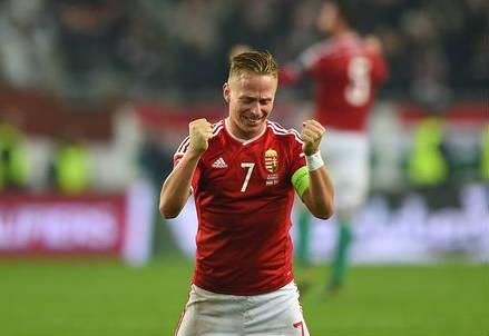 Balazs Dzsudzsak, 28 anni, centrocampista e capitano dell'Ungheria (dall'account Twitter ufficiale UEFAEuro)