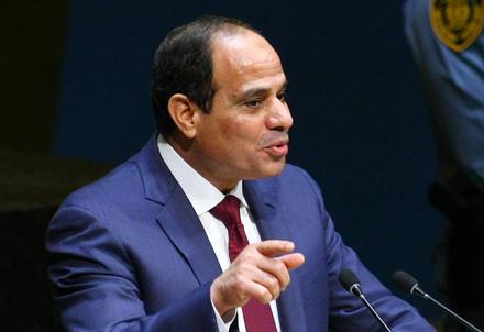 Il Presidente Al Sisi (Infophoto)