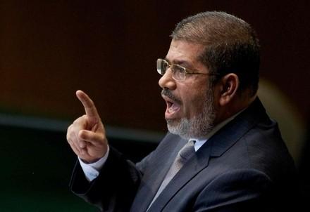Il presidente egiziano Morsi (Foto: Infophoto)