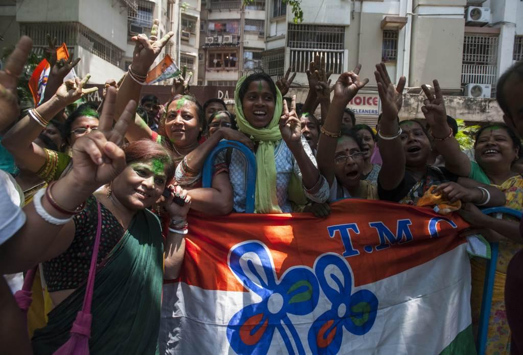 la vittoria del partito BJP (Infophoto)