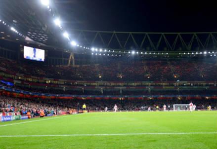 L'Emirates Stadium di Londra, casa dell'Arsenal dal 2006 (INFOPHOTO)