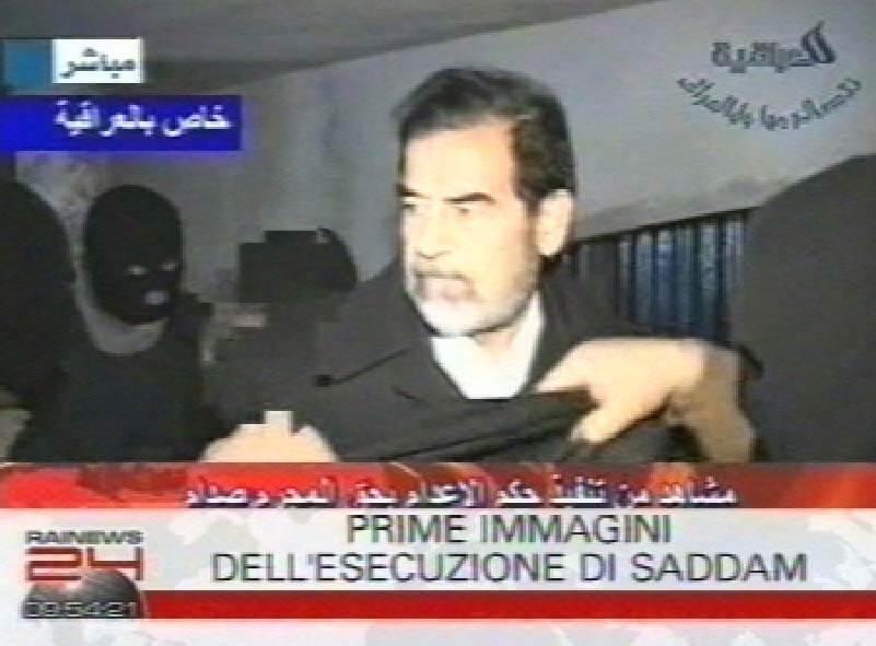 Saddam Hussein (Infophoto)