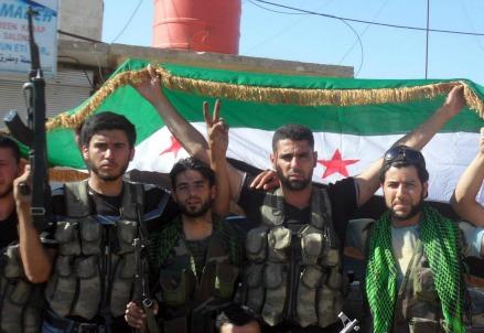 Ribelli dell'Esercito Siriano Libero