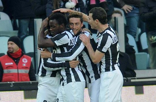 Vola la Juventus, sempre più prima (INFOPHOTO)