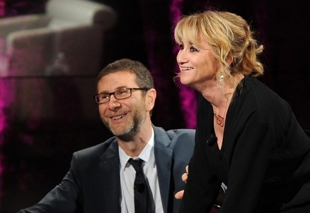 Fabio Fazio e Luciana Littizzetto (Infophoto)