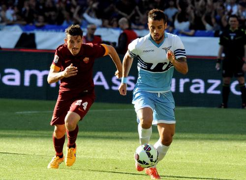 Alessandro Florenzi, 24 anni e Felipe Anderson, 22 (INFOPHOTO)