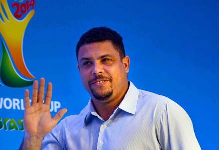 Ronaldo, 38 anni, brasiliano (INFOPHOTO)