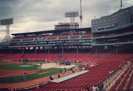Il Fenway Park di Boston (dall'account Twitter ufficiale @RedSox)